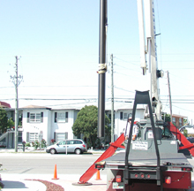 Flagpole Installation